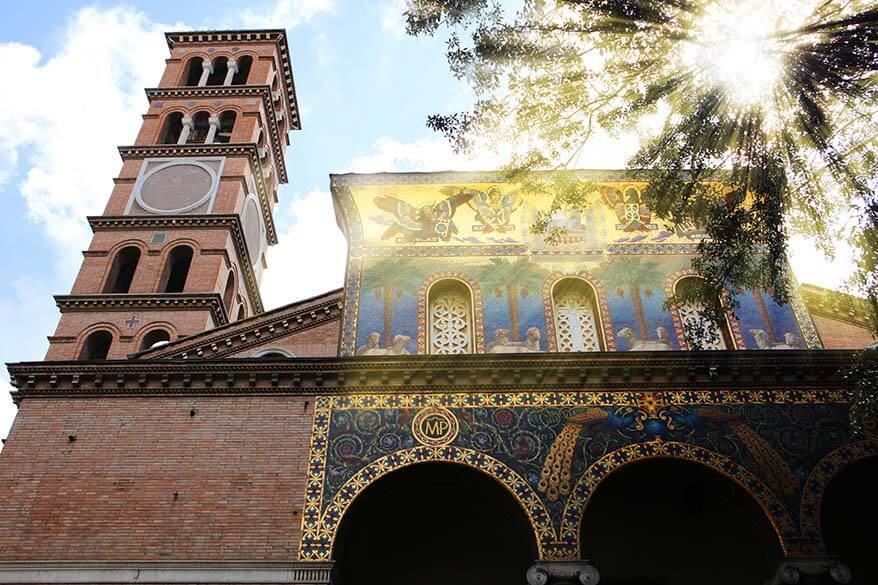 Chiesa Santa Maria Addolorata on Piazza Buenos Aires in Rome