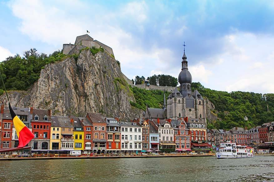 Dinant town in Belgium