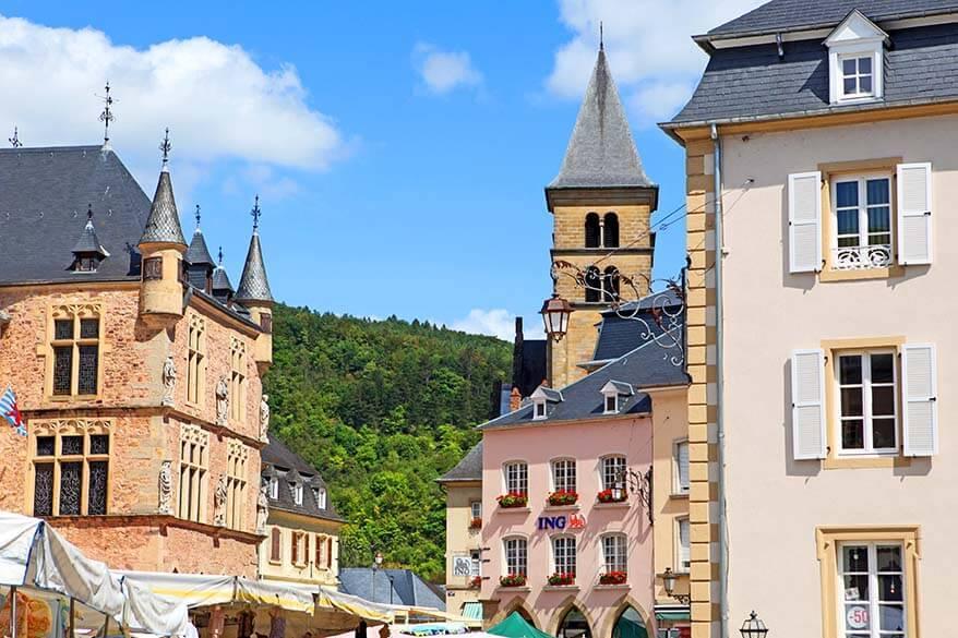 Echternach town in Luxembourg