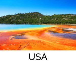 Favorite destination USA