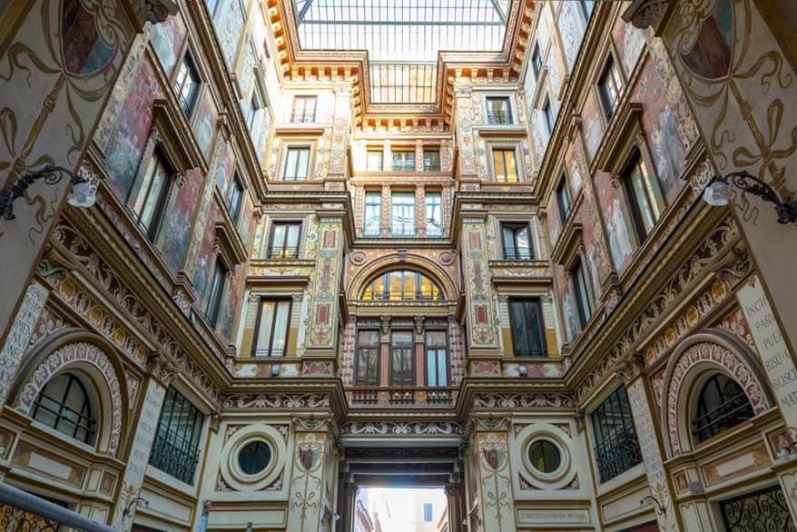 Galleria Sciarra - secret places in Rome