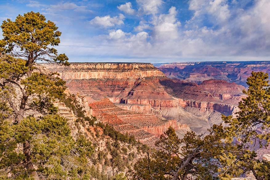 Grand Canyon National Park in April