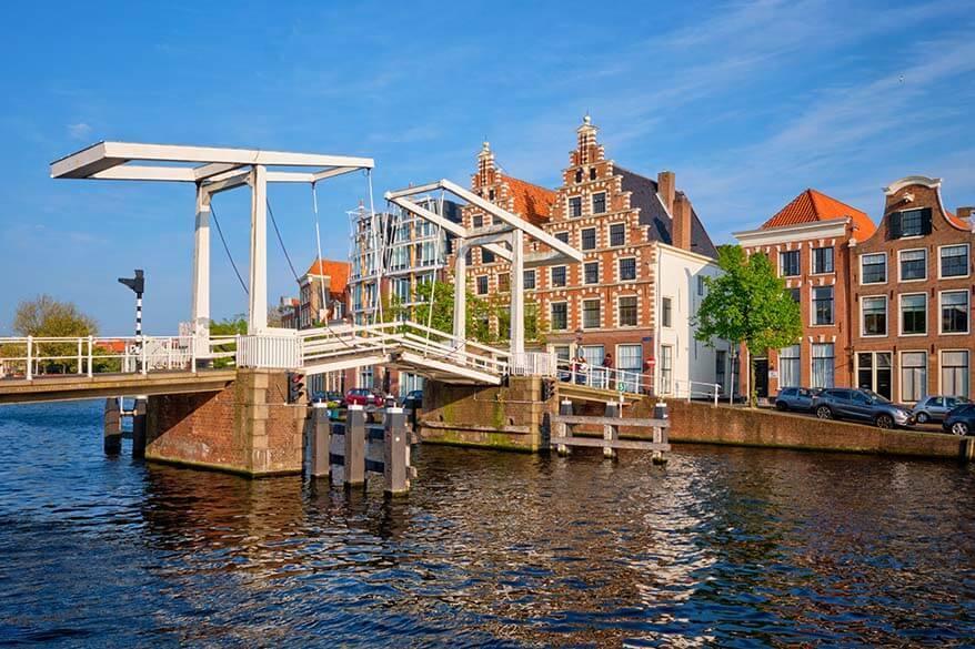 Gravestenenbrug in Haarlem, the Netherlands