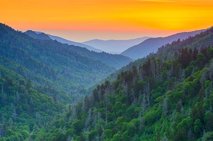 Great Smoky Mountains - most visited national park in America
