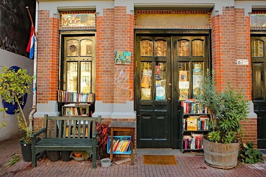 Happy Bookieman bookstore in the 9 Streets Amsterdam