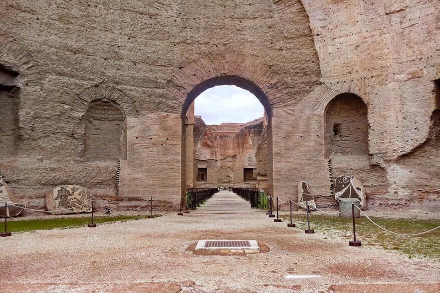 Hidden gems of Rome - Baths of Caracalla