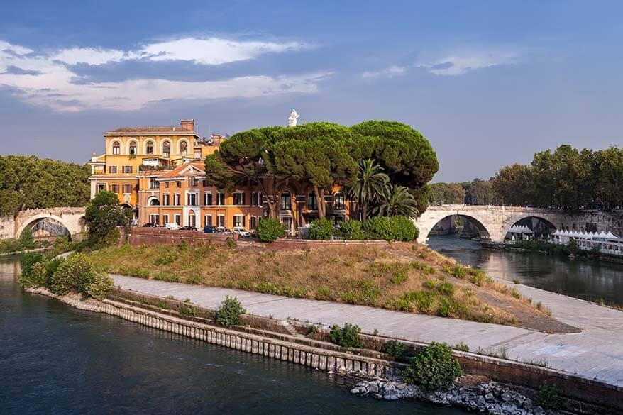 Isola Tiberina in Rome