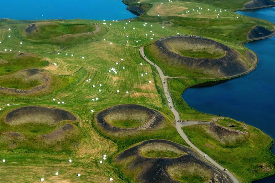 Lake Myvatn - most popular day tour in Northern Iceland