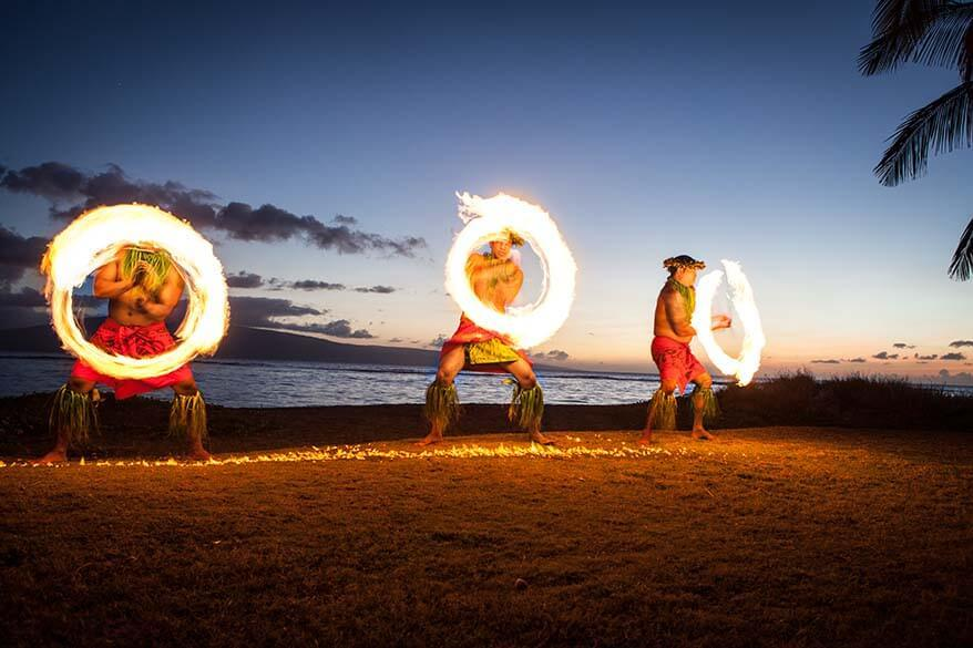Luau - one of the best activities in Maui Hawaii
