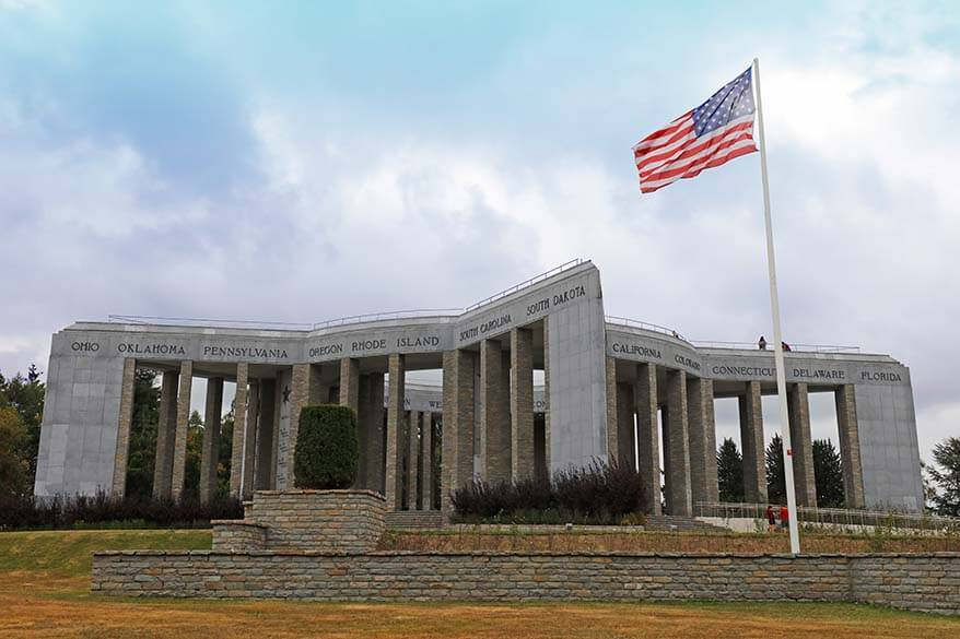 Luxembourg excursions - Bastogne War Museum and Mardasson Memorial