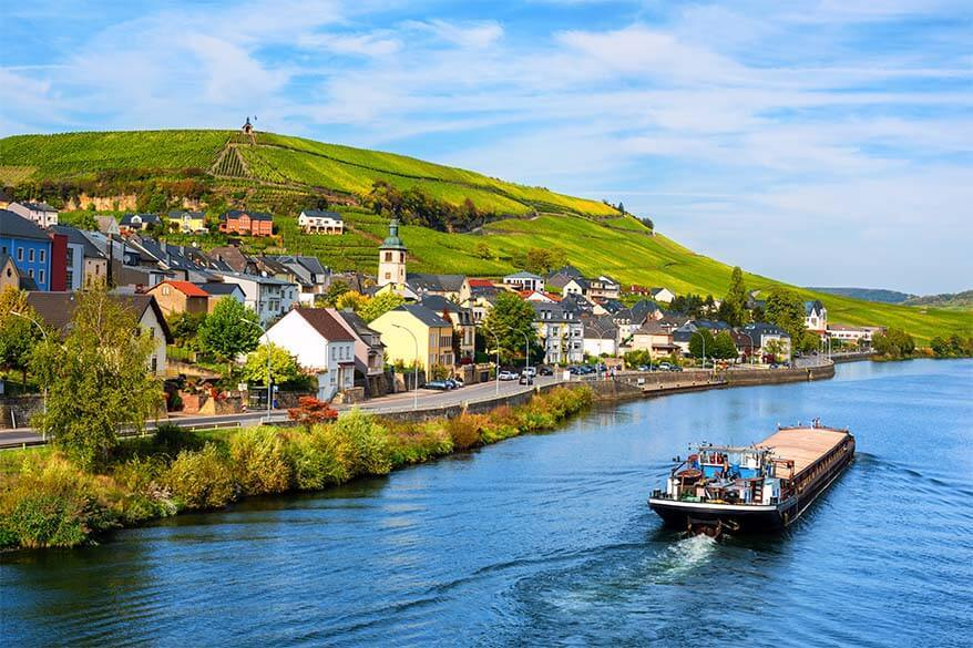 Moselle Valley in Luxembourg
