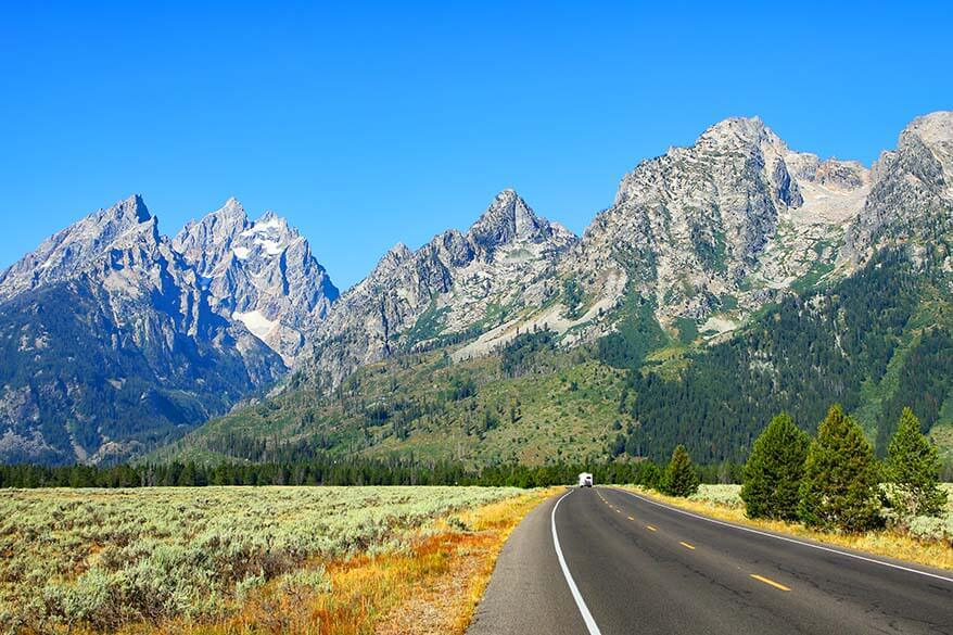 Most popular national parks in the USA - Grand Teton NP