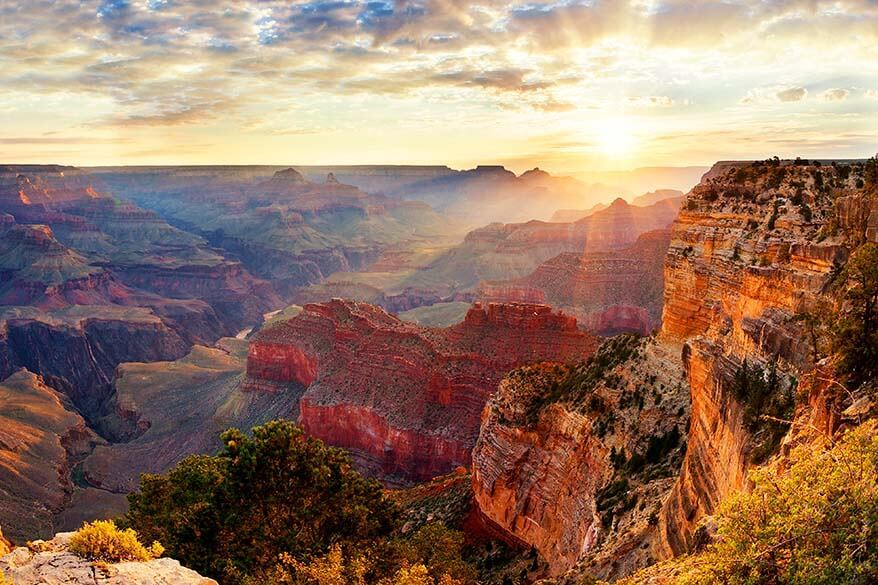 Most visited American national parks - Grand Canyon