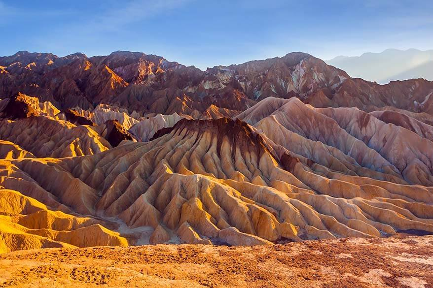 Most visited national parks - Death Valley
