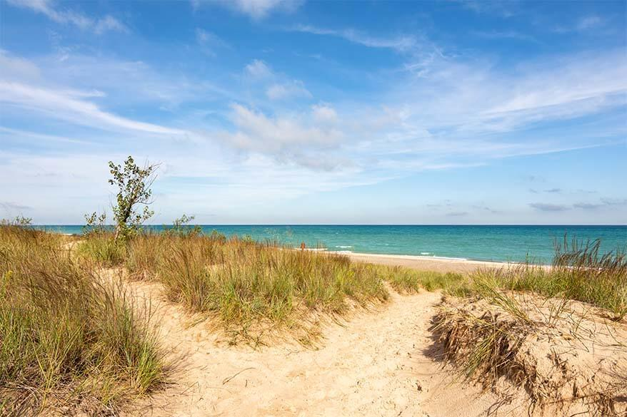 Most visited national parks in the USA - Indiana Dunes National Park