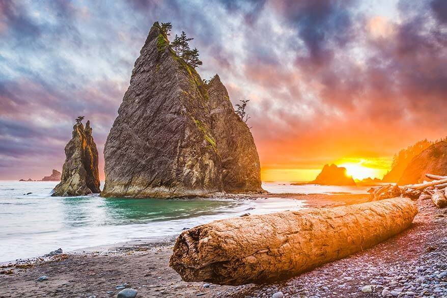 Olympic National Park is among the top 10 national parks in the USA