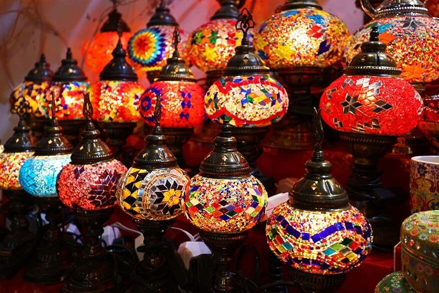 Oriental Lamps for sale Dubai Spice Souk