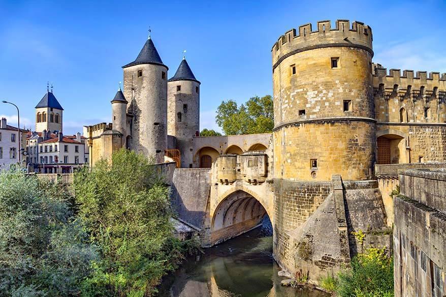 Porte des Allemands in Metz France