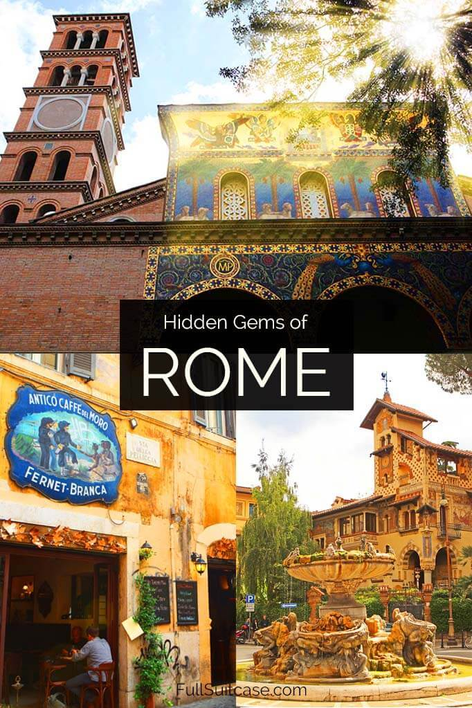 Rome hidden gems and unique places to visit