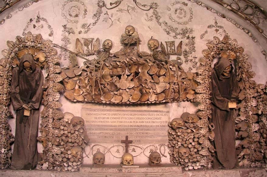Secret places in Rome - Capuchin Crypt of Santa Maria della Concezione