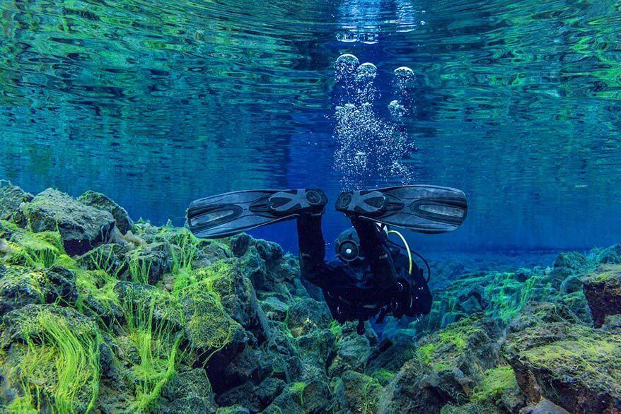 Silfra snorkeling tours in Iceland