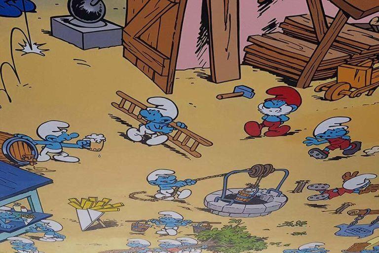 The Smurfs Movie - Group Prints - | AllPosters.com