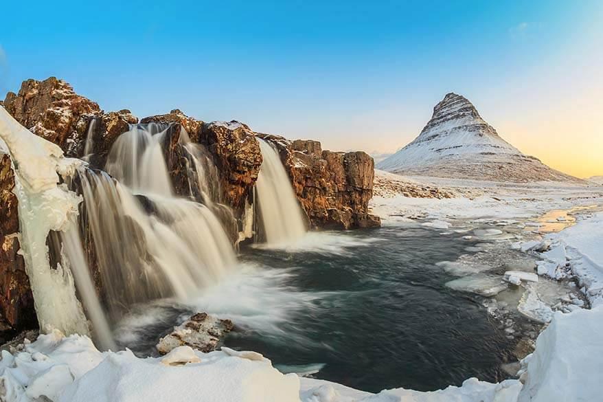 Snaefellsnes Peninsula in winter