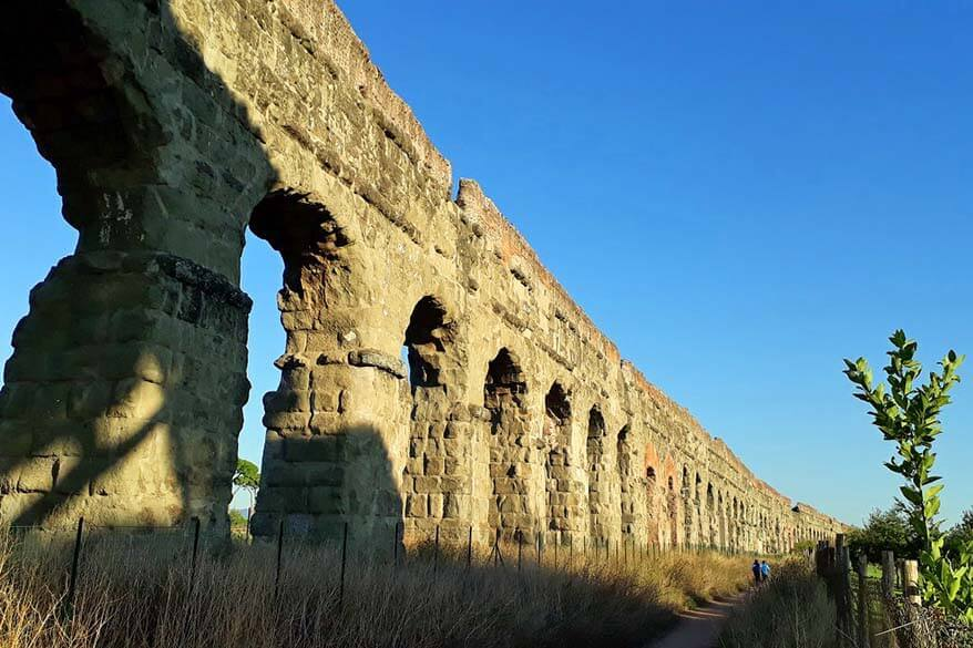 The Aqueducts Park in Rome