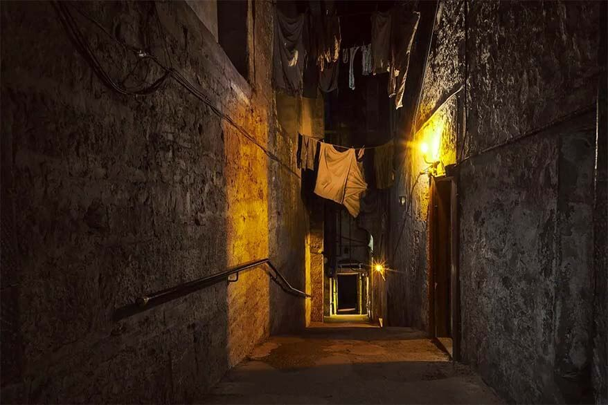 The Real Mary King's Close in Edinburgh