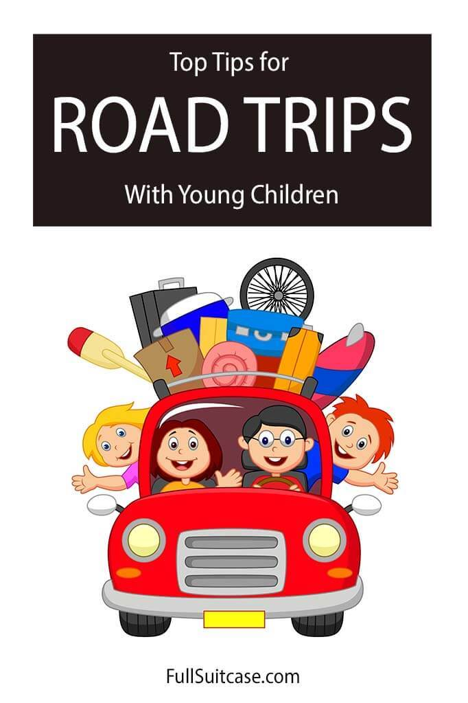 Tips for road trip with toddler