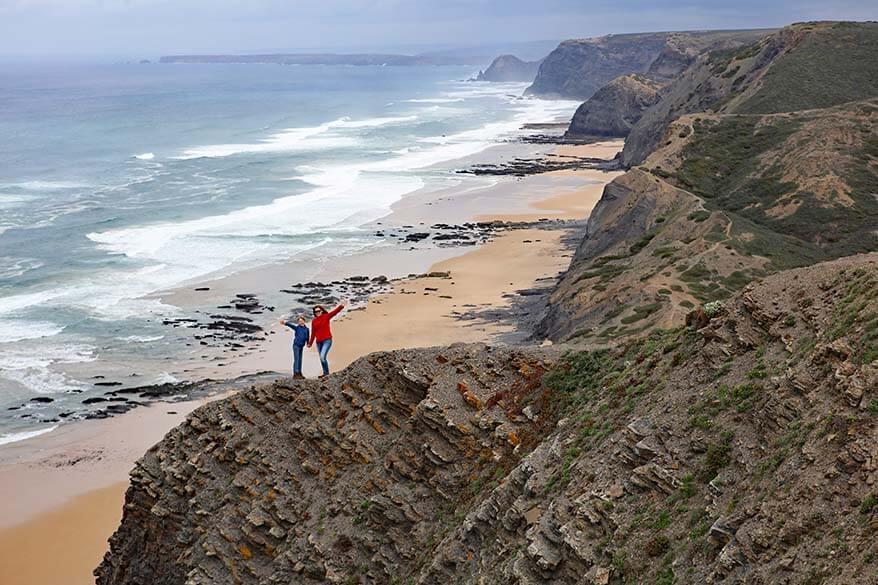 Travel picture of the Alentejo coast in Portugal