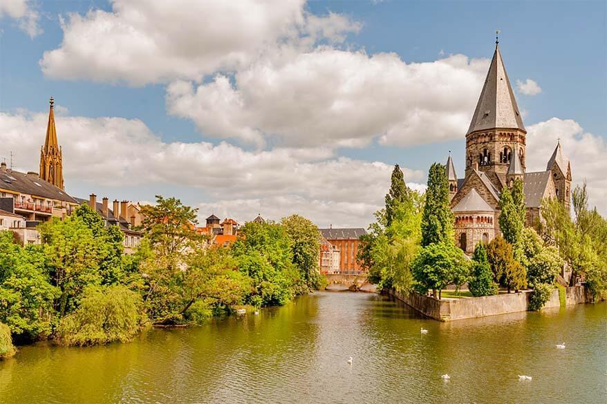 Trips near Luxembourg - Metz in France