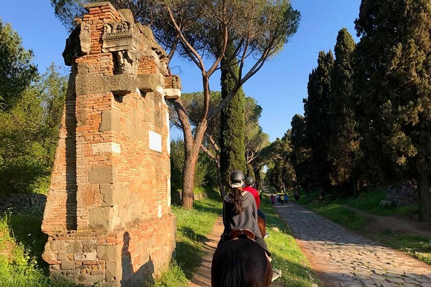Unique things to do in Rome - Appian Way