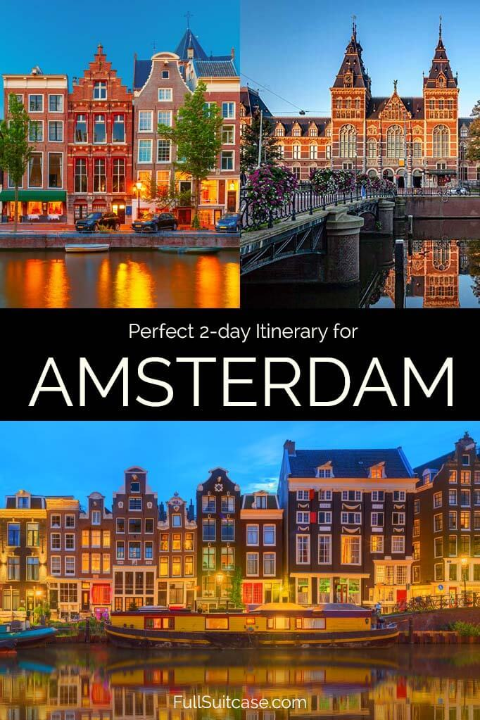 What to see and do in Amsterdam in 2 days