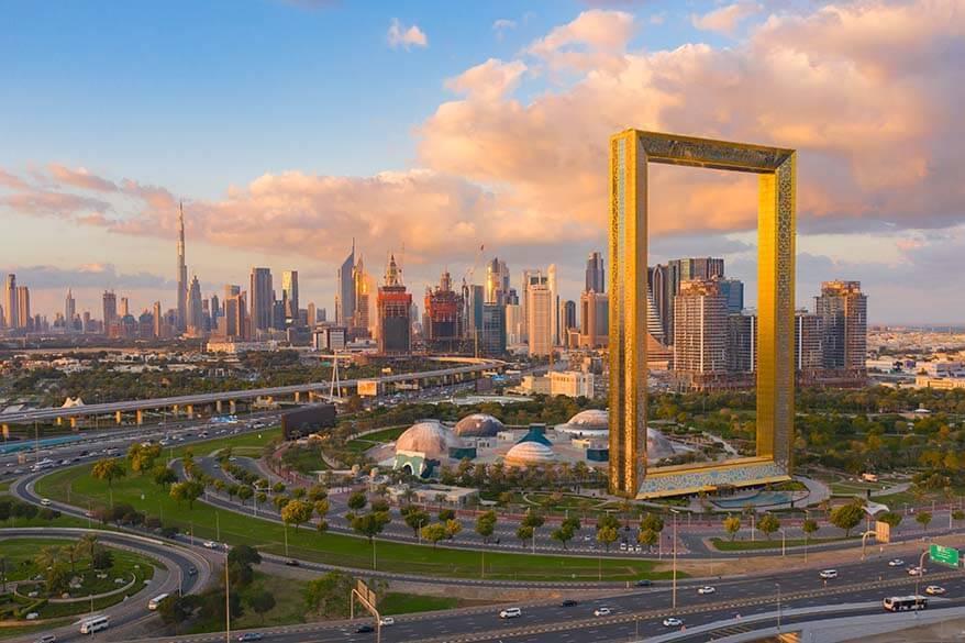 Zabeel Park and Dubai Frame