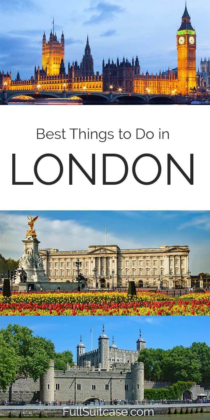 Absolute best things to do in London