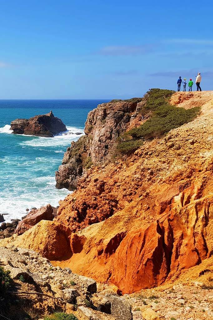 Alentejo Coast in Portugal in April