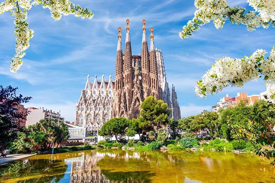 Barcelona in spring