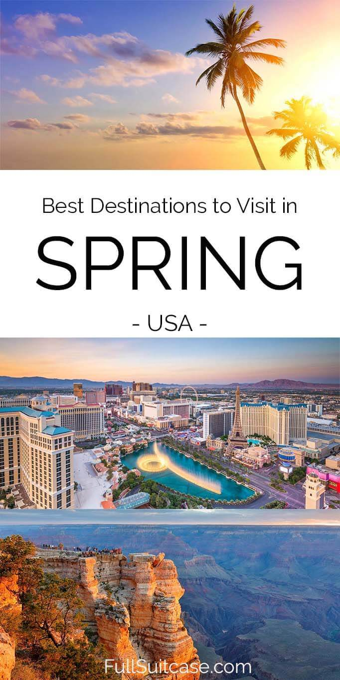 Best American destinations to visit in spring