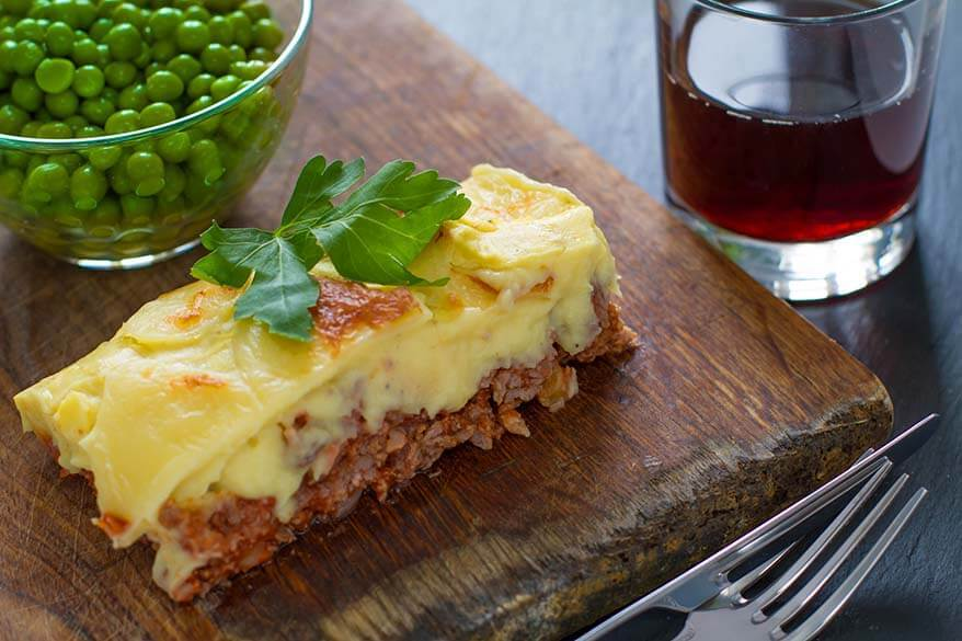 Best British food - Shepherds Pie