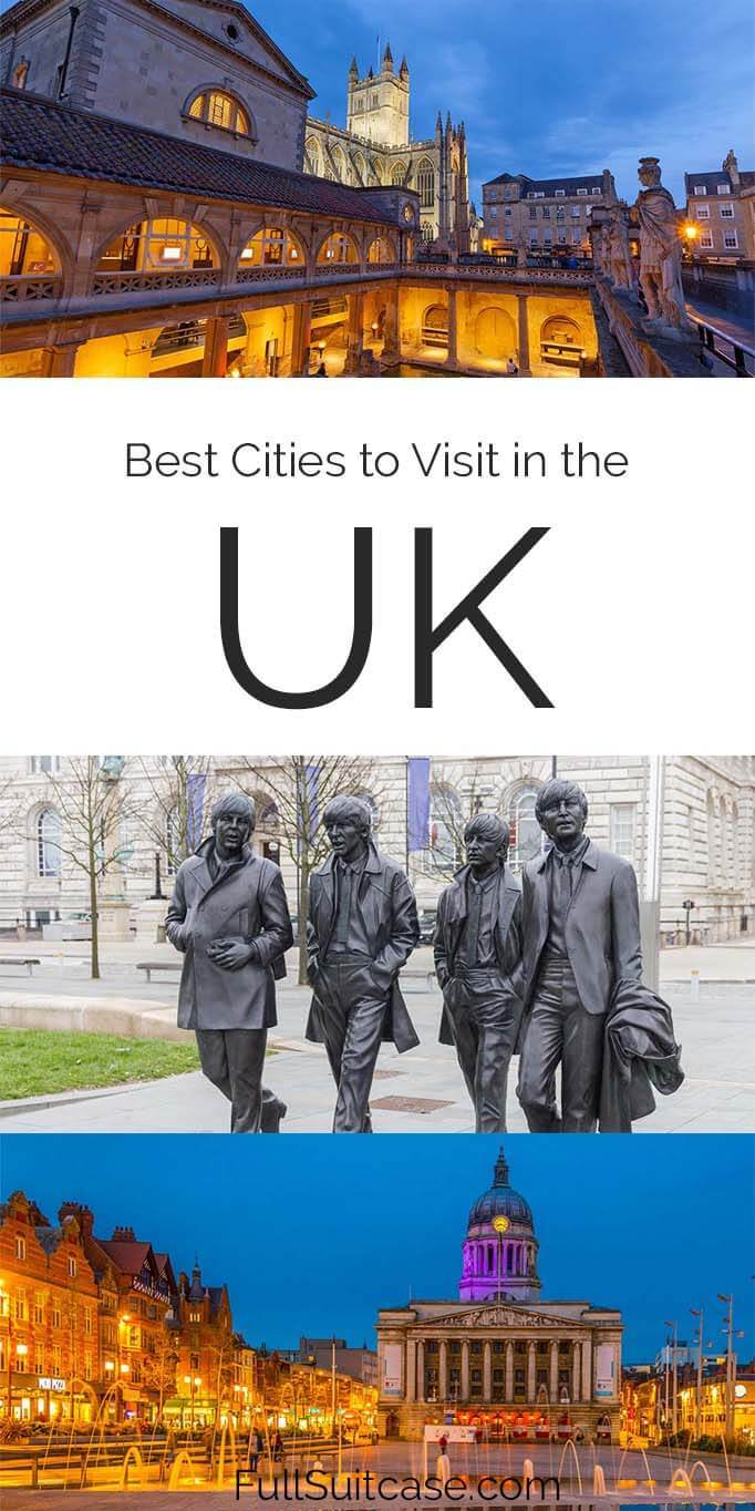 Best cities to visit in the United Kingdom