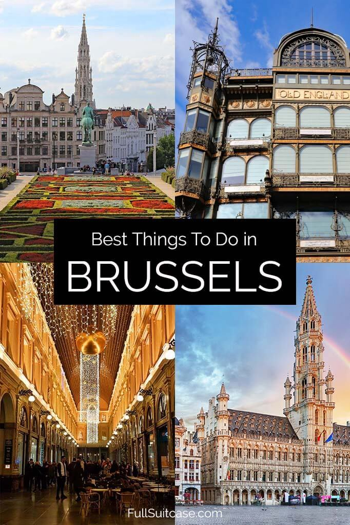 Best places to see and things to do in Brussels Belgium