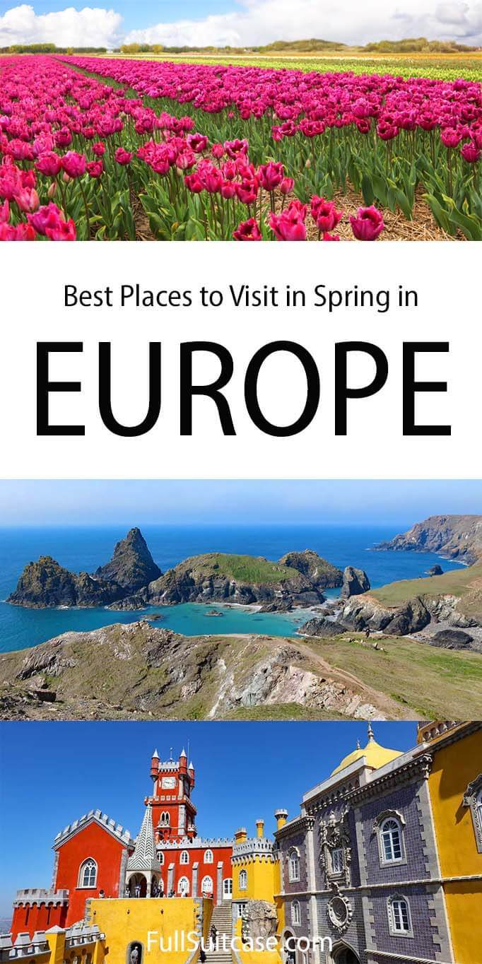 Best places to visit in Europe in spring