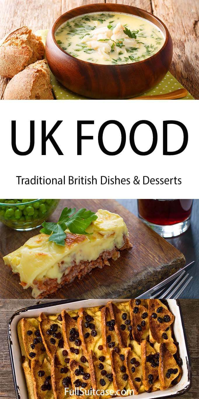 Best traditional British food to try in the UK