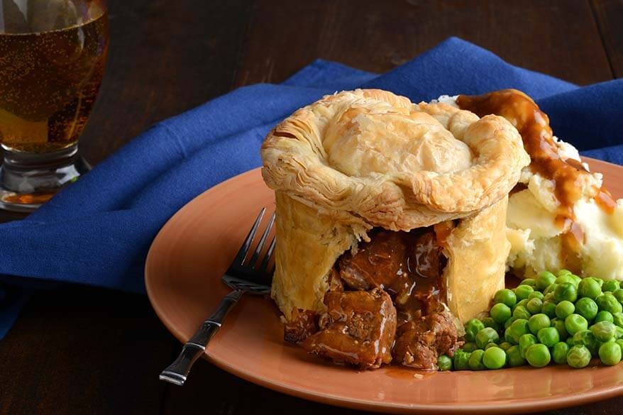 British food - Steak and Kidney Pie