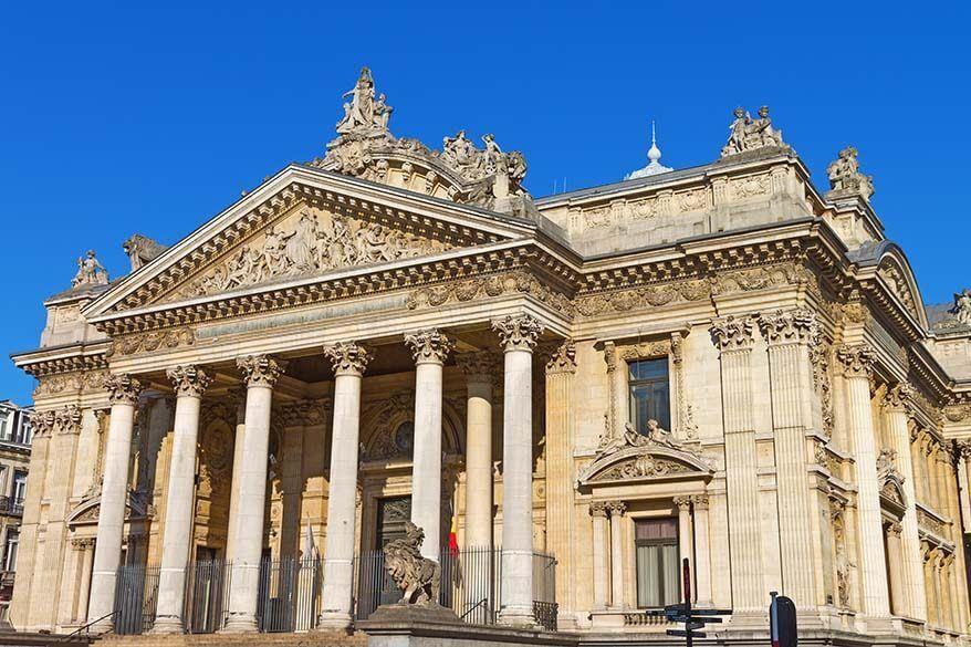 Brussels Stock Exchange - Palais de la Bourse