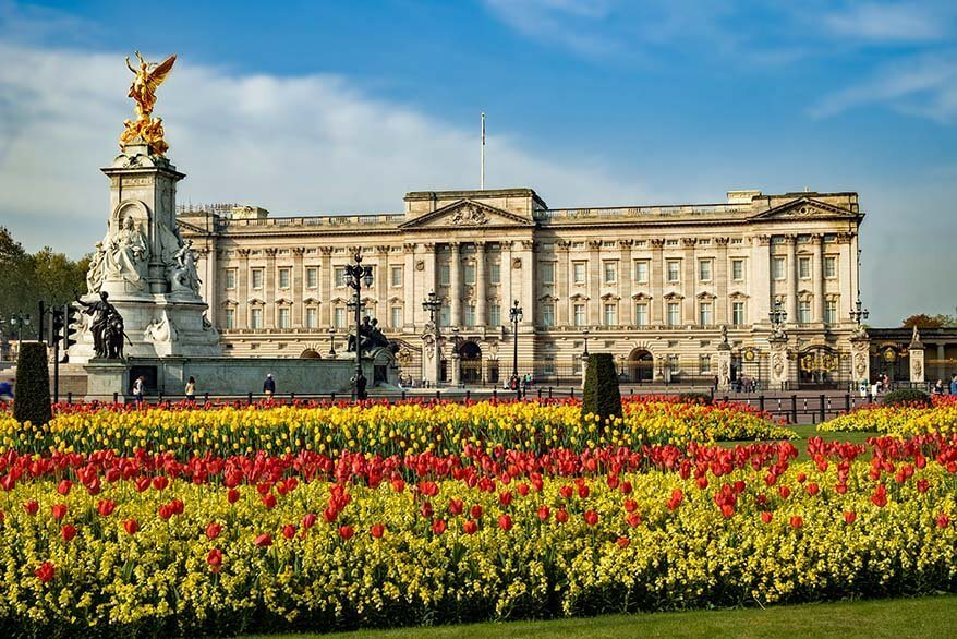 Buckingham Palace is must see in London
