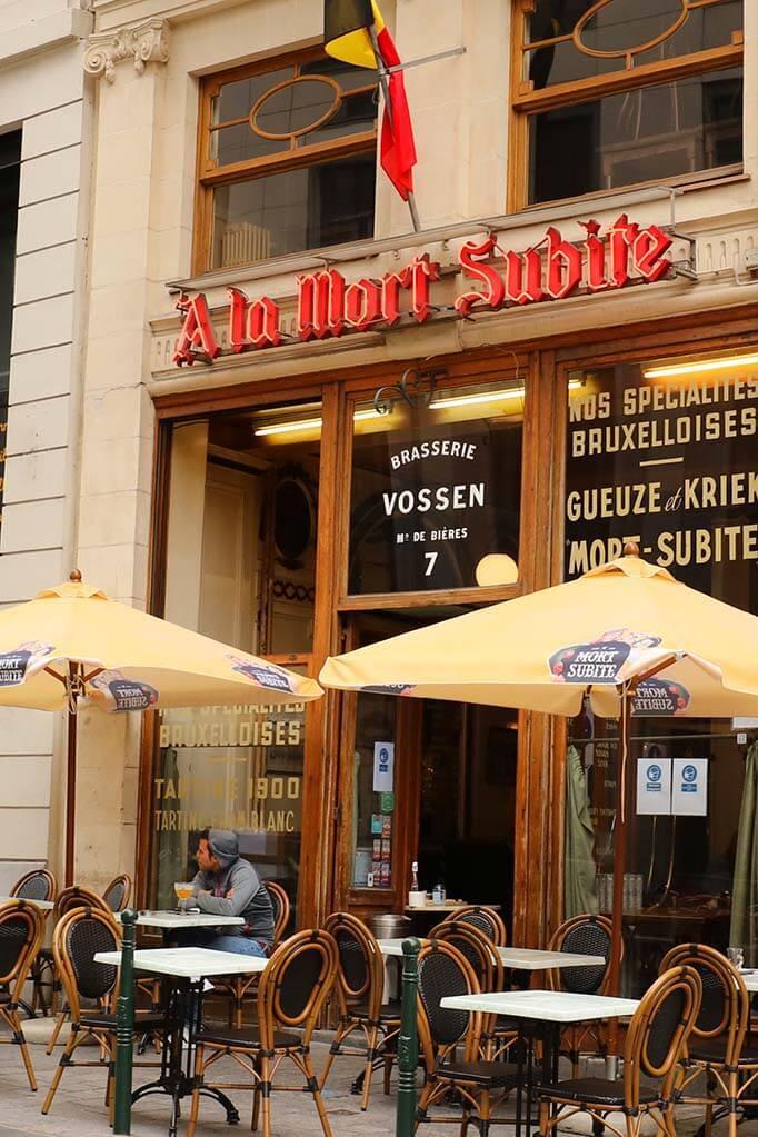 Cafe Mort Subite in Brussels