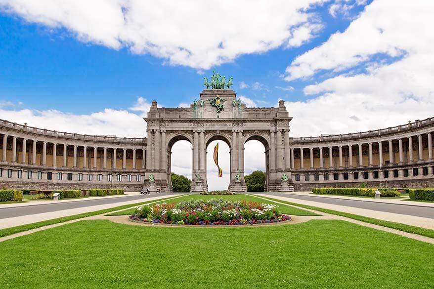 Cinquantenaire Park in Brussels