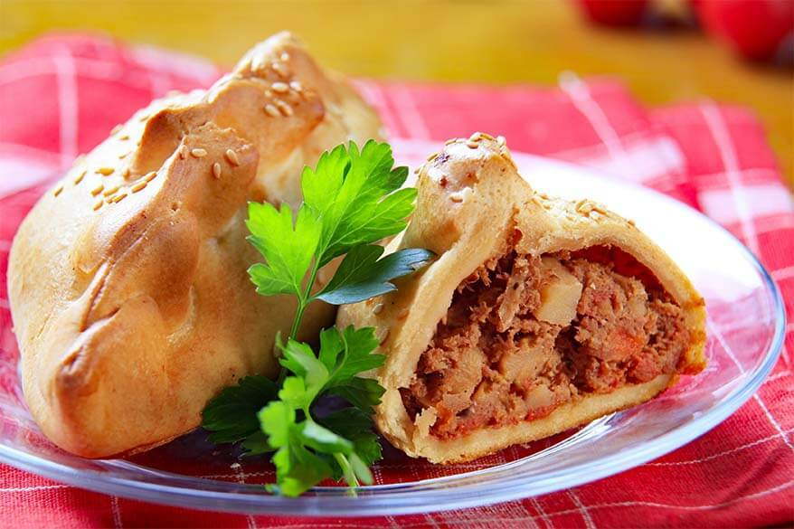 Cornish Pasty - UK food